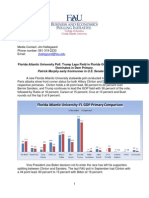 Florida Poll - FAU November 17