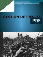 Administración de Desastres. Gestion de Riesgo. Comprimido