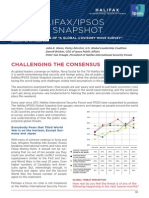 The Halifax/IPSOS Global Snapshot