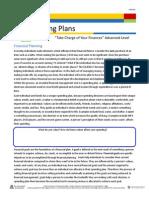 spending plans info sheet fefe