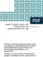 Game Theory and the Structure of Administrative Law. - Yehonatan Givati