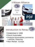 IBS Renault Nissan Alliance Final