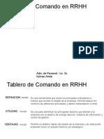 Tablero de Comando en RRHH