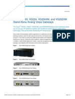 Cisco VG Datasheet