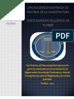 GUÍA PRÁCTICA DEL USUARIO JUDICIAL - ODECMA TUMBES