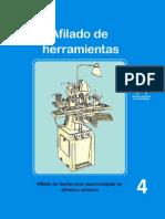 Afilado de Herramientas - Afilado de Buriles Para Rosca Triangular en Afiladora Universal 4