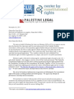 Legal Letter to UCLA Re