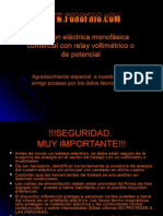 Coneccion de Motor Monofasico .Www.forofrio.com