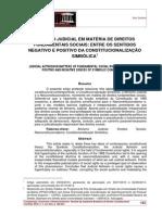 Vitor Soliano - Ativismo Judicial Em Matéria de Direitos Fundamentais Sociais
