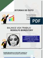 100 Historias de Exito Ppt