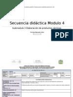 Secuencia Didáctica 1carnicos2012