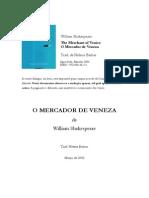 Mercador Veneza WShakesp HBarbas