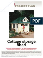 Cottage Storage Shed - FH02Sep