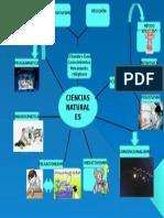 Mapa Mental Ciencias Naturales