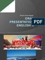 Oral Presentation English II