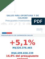 Proyecto Presupuesto Salud 2016