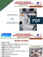 UNEFM - Máquina de Anestesia