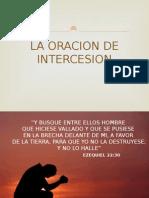 La Oracion de Intercesion