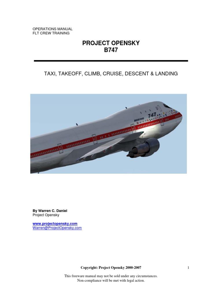 boeing 747 operations manual flight control surfaces flap rh pt scribd com 747 400 systems manual B747- 300