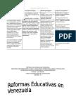 Reformas Educativas PLanificativas