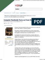 Computer Randomly Turns on From Sleep _ TechPowerUp Forums