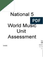World Music Assessment
