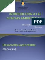 CLASE 18. Desarrollo Sustentable. Recursos