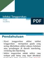 Infeksi Tenggorokan