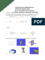GuIa de Ejercicios Para MatemiTicas III Unexpo