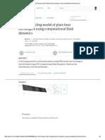 3D Milk-fouling Model of Plate Heat Exchangers Using Computational Fluid Dynamics