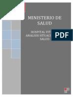 ANALISIS DE LA SITUACION DE SALUD DEL HOSPITAL VITARTE
