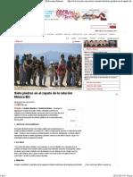 11-11-15 Siete piedras en el zapato de la relación México- EU