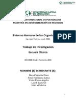 Investigacion Escuela Clasica de La Administracion