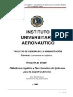 Plataforma Logística de Químicos para la Industria Vitivinícola - Pablo Estevez