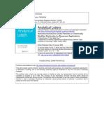 Nano Zinc Oxide Applications in Biosensors -A Review