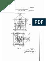 Tesla Apparatus for Aerial Transportation