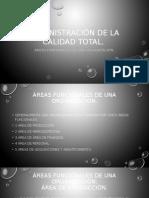 Areas Funcionales de Una Organizacion