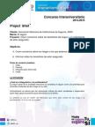 Brief Concur So Inter Universitario 2015