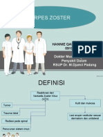 powerpoint Herpes Zoster
