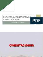 Procesos Constructivos Cimentaciones (2do Parcial)