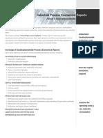 288736386 Economics of Azodicarbonamide Production Processes