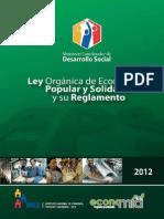 Ley economía popular y solidaria ECUADOR