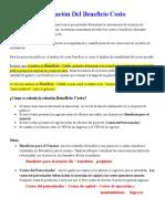 5 Beneficio Costo Especifico 2015 Mod