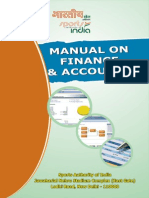 Manual of Finance and Account