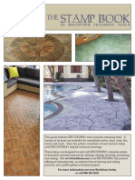 Concrete stamped