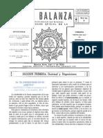 Balanza No. 7