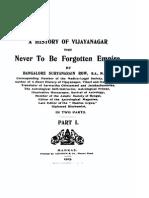 A History of Vijayanagar - The Never to Be Forgotten Empire