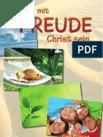 000605 Mit Freude Christ Bibel Jesus Christus Gott Glaube Religion Esoterik