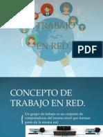 Presentación de Trabajo en Red.