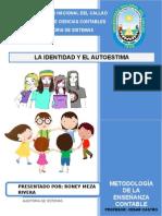 La Identidad y La Autoestima - Roney Meza r.